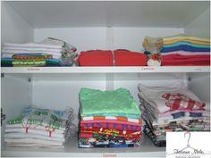 Organização de ambientes residenciais por Tatiana Melo - Personal Organizer