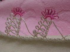 İğne Oyası Yazma Örneği Merdiven Örneği |  görsel 1 Crochet, Macrame, Needlework, Lace, Google, Needlepoint, Tejidos, Tricot, Embroidery