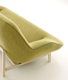 Cosse sofa by Philippe Nigro for Ligne Roset http://decdesignecasa.blogspot.it