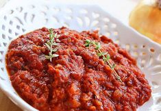 Basic Marinara Sauce + How To Peel & Seed Tomatoes : The Comfort of Cooking Chicken Marinara, Marinara Sauce, Tomato Sauce, Raw Vegan Recipes, Cooking Recipes, Italian Recipes, Cooking Tips, Diet Recipes, Italian Foods