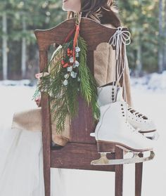 Evergreen Winter Wedding Inspiration on Style Me Pretty: http://www.StyleMePretty.com/oregon-weddings/2014/03/11/evergreen-winter-wedding-inspiration/ Luxe Event Productions | Hazelwood Photo