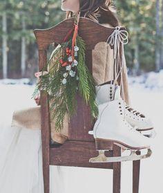 Evergreen Winter Wedding Inspiration on Style Me Pretty: http://www.StyleMePretty.com/oregon-weddings/2014/03/11/evergreen-winter-wedding-inspiration/ Luxe Event Productions | Hazelwood Photo hazelwood photo, winter bride, winter weddings