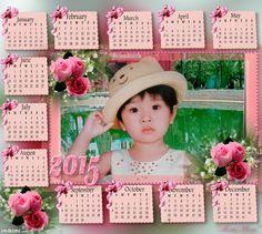 ~*~ 2015 Calendar! ~*~ January February March, Lee Min Ho, 2015 Calendar, Frame, Places, Picture Frame, Frames
