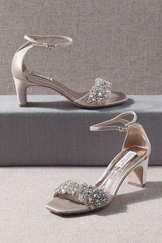 Silver Wedding Shoes, Wedding Shoes Bride, Bride Shoes, Silver Heels, Ivory Wedding, Low Heel Wedding Shoes, Bhldn Wedding, Wedding Dresses, Bridal Gowns