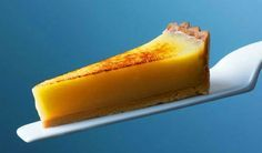 Heston Blumenthal's lemon tart. Create the perfect filling that's not too soft but not too firm.