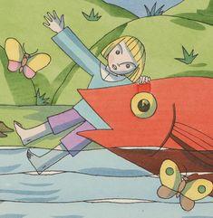 Die Fischreise : ein Bilderbuch / von Tom Seidmann-Freud   Gallica