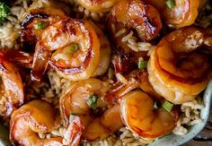 An easy shrimp recipe with a delicious garlic and honey sauce … - Recipes Easy & Healthy Shrimp Recipes Easy, Easy Healthy Recipes, Easy Dinner Recipes, Seafood Recipes, Vegetarian Recipes, Easy Meals, Cooking Recipes, Dinner Ideas, Honey Sauce