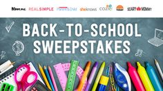 This is your chance to win a back-to-school prize package worth over $4,000!