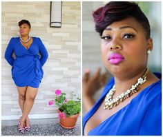 Fab Four Fashion: OH BABY YOU ARE ROYAL BLUE!!! #thefabfourfashion