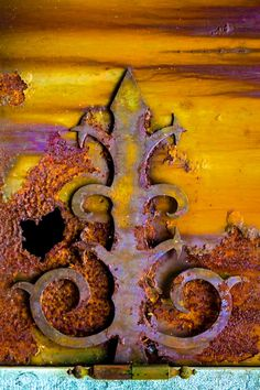 Rusted ironwork