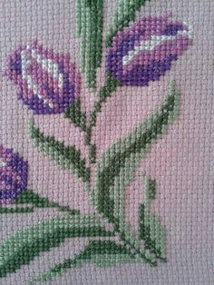 This Pin was discovered by Fat Simple Cross Stitch, Cross Stitch Borders, Cross Stitch Flowers, Cross Stitch Designs, Cross Stitch Patterns, Cross Stitch Embroidery, Hand Embroidery, Bargello, Needlepoint