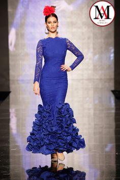 Diseño de de Pilar Rubio #Simof2014 #ModaAndaluza #ModaFlamenca