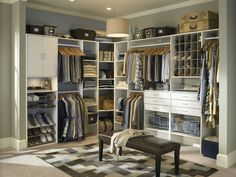 Divine walking closet designs you need to have. Thirty walking closet ideas for the perfect fashion wardrobe. Feed your design ideas now. Closet Walk-in, Front Closet, Reach In Closet, Closet Bedroom, Master Closet, Closet Space, Closet Storage, Closet Ideas, Bathroom Closet