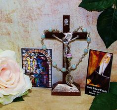Unbreakable Traditional Catholic Relic Chaplet of St. Rita of Cascia - Patron of Impossible Causes, Abuse Victims and Difficult Marriages by foodforthesoul on Etsy