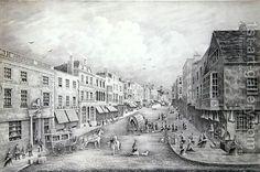 Henry Prosser:The High Street, Guildford, Surrey, 1877