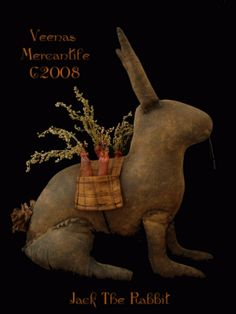 Jack the Rabbit from Veenas Mercantile
