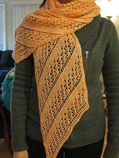 Free Pattern: Oerva Scarf by Maryam Maleki
