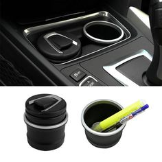 2015 New car Ash Tray Ashtray Storage Cup With LED for BMW 1 3 4 5 7 Series X1 X3 X5 X6 hot selling