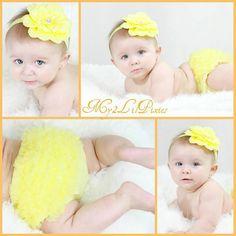 Nuevos foto Prop Set  amarillo BLOOMER y por my2lilpixies en Etsy, $18.95