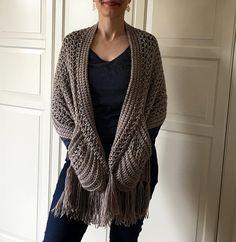 EASY Crochet Shawl PATTERN Womens Scarf Pattern Crochet Wrap