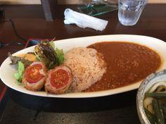 Tomato curry in Kitamoto