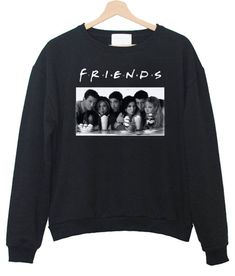 Friends TV Show Sweatshirt Clueless Outfits, Cute Lazy Outfits, Pajama Outfits, Casual Outfits, Printed Sweatshirts, Hoodies, Friends Merchandise, Friends Sweatshirt, Best Friend Outfits