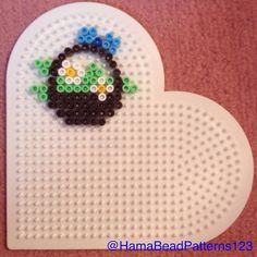 Hama Bead Flower Basket by hamabeadpatterns123