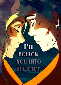 I Will Follow You Into The Dark by Death Cab for Cutie Percy Jackson art <3 This is so heart wrenching!!