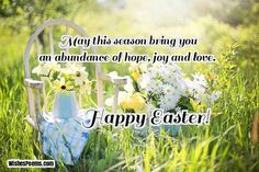 Find the perfect Easter messages with this collection of happy Easter wishes and Easter wishes images for Easter cards or Easter greetings. Inspirational Easter Messages, Easter Greetings Messages, Happy Easter Wishes, Easter Quotes, Easter Religious, Easter Pictures, Easter Season, Easter Parade, Wishes Images