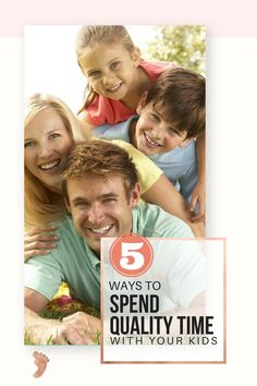 5 Simple ways to spend quality time with your kids. Find out how atgrandmasplace.com