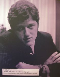 BIll Clinton at a young age