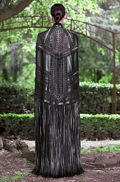 Leather Couture Gown from Givenchy