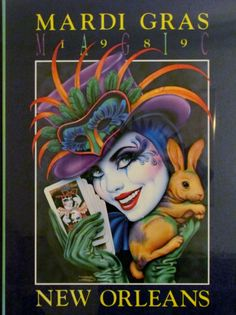 this is hanging in our basement, Rick bought it in 1989. Mardi Gras poster
