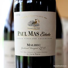 The Reverse Wine Snob: Paul Mas Estate Single Vineyard Collection Gardemiel Vineyard Malbec 2011 - A Throwback Long Island Winery, Malbec Wine, Best Red Wine, Wine Merchant, Wine Education, Wine Collection, French Wine, Wine Time, Wine And Beer
