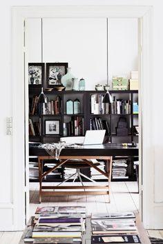 Keltainen talo rannalla: Moderni koti - A Modern Home / Elle Decoration