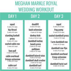 Meghan Markle's Royal Wedding Workout – weddingbarbells.com