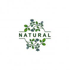 Food Logo Design, Logo Food, Logo Garden, Earth Logo, Logo Simple, Organic Logo, Logo Restaurant, Logo Design Inspiration, Clipart