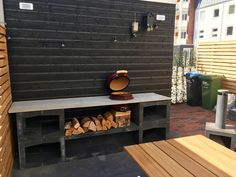 Bbq Kitchen, Diy Outdoor Kitchen, Outdoor Cooking, Small Patio Design, Outdoor Patio Designs, Outdoor Decor, Backyard Bar, Backyard Kitchen, Kamado Bbq