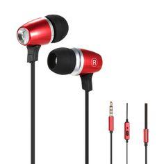 OY2 3.5mm Stereo Hi-Fi Running In-Ear Headset Earphone Headphone Line Control Hands-free with Mic
