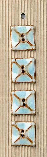 Ceramic Buttons  at 'Button Mad.com' made by single moms in Africa. So beautiful.
