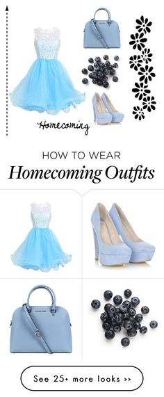 """""""Homecoming"""" by bunny134 on Polyvore featuring Michael Kors"""