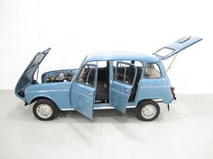 Renault 4. What VW was for Germany and Mini for the UK, this one was in my homeland Slovenia... and France.