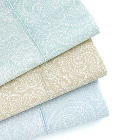 must scan...paisley pillowcases #bedding #registry #macys BUY NOW!