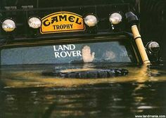 There are some limits even for a Land Rover....thank goodness for the winch,