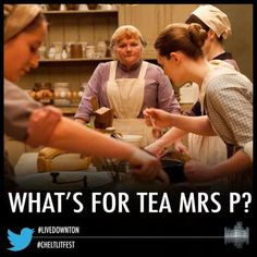 Downton Abbey Cooks Online Guide to Afternoon Tea. Discover the history of the Afternoon Tea ritual, proper etiquette, how to make a proper cup of tea, and the variety of items which make up the tea tray. Come back weekly for new recipes.