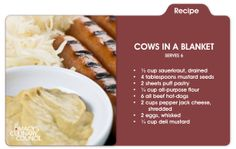 Chef Marc Forgione puts a twist on a ballpark classic with his Cows in a Blanket appetizer, only at mblog.macys.com