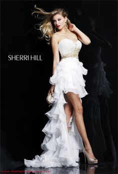 Buy your Sherri Hill dresses here | Sherri Hill Prom dress 3835 - Sherri Hill Prom dresses 2012 - NetFashionAvenue.com