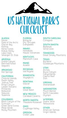 oh I need to do this since i've done all the ones in utah!