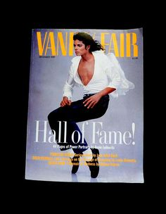 Vanity Fair - December, 1989 When mags were works of art.  Genre: Celebrity, Fashion, News, General Interest, Politics  Featuring the work of top photographer Annie Leibovitz - famous Hall of Fame (Michael Jackson front cover). Featuring Princess Diana, David Merrick, Memoir of