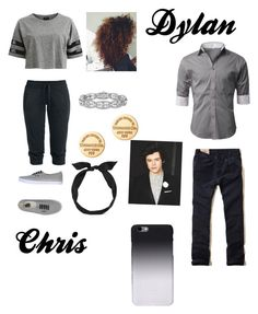Clint Barton's daughter and Loki's son (Ik I didn't make one Srry) by liltwinki on Polyvore featuring polyvore, fashion, style, VILA, Hollister Co., Vans, Tiffany & Co., C6 and yunotme